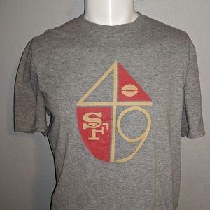 San Fransisco 49ers NFL Team Apparel Shirt Large